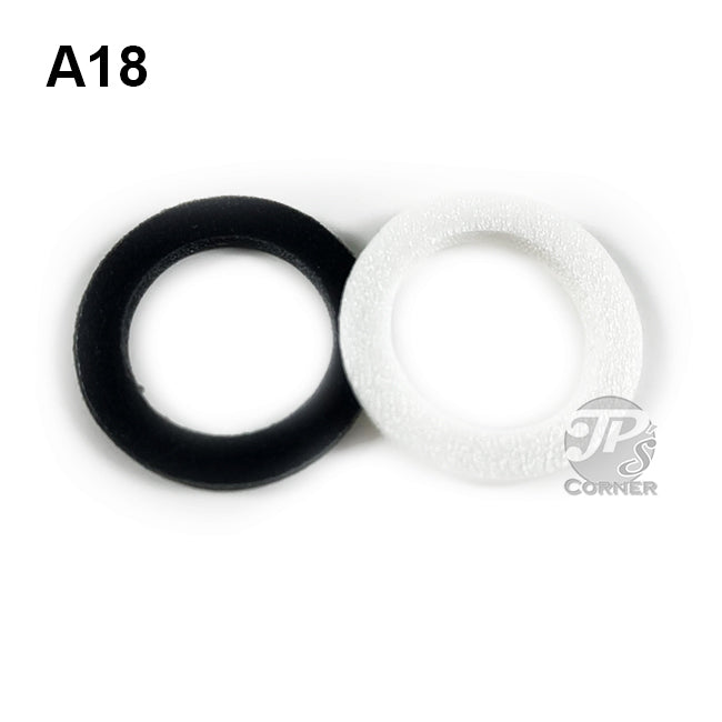 "18mm Air-Tite ""A"" Foam Rings - choice of 10 count or 50 count"
