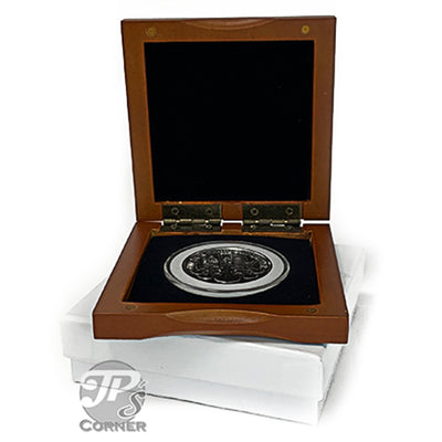PC-1 Wood Coin Presentation Case