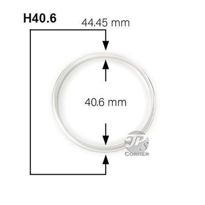 Direct Fit Air-Tite H40 1 oz. American Silver Eagle Coin Capsule Measurement Guide