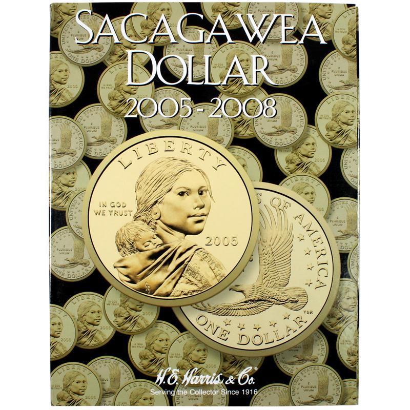 Harris Folder: Sacagawea Dollars - 2005-2008 #2943