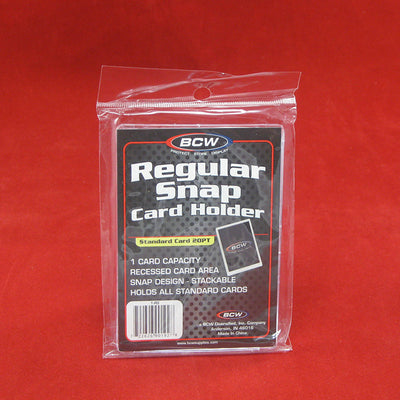 Regular Snap Card Holder by BCW