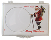 Marcus Snap Lock Silver Eagle: Merry Christmas (Santa)