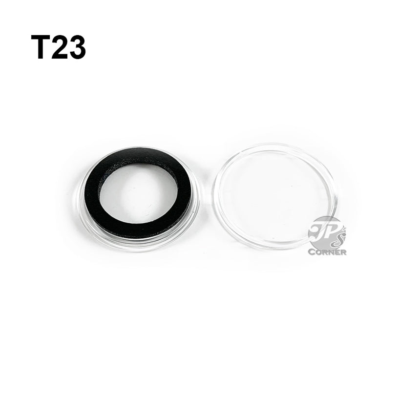 20mm AIR-TITE COIN HOLDER WITH BLACK RING