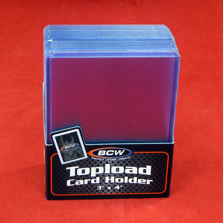 BCW Topload Trading Card Holder