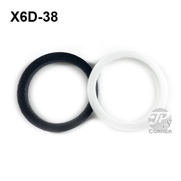 38mm Air-Tite Model X6D Foam Rings for Coin Capsule