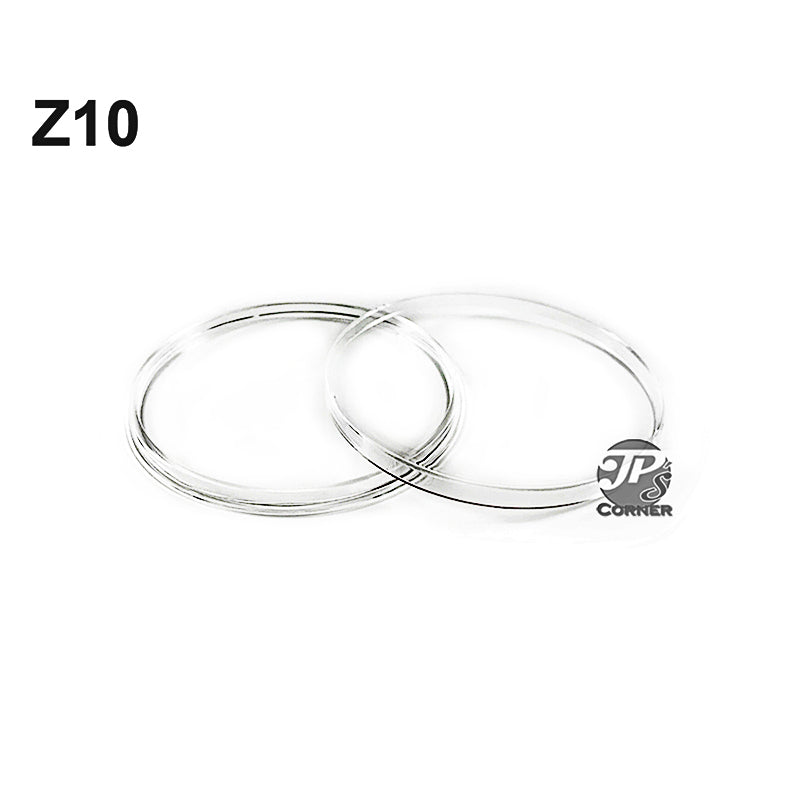 Direct Fit Air-Tite Z10 10. oz. Silver Round Coin Capsule