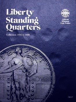 Whitman Folder: Standing Liberty Quarters- 1916-1930