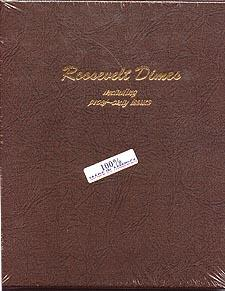 Dansco Album #8125 for Roosevelt Dimes: 1946-2013 w/proofs