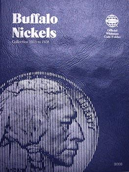 Whitman Folder: Buffalo Nickels: 1913-1938