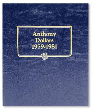 Whitman Albums: Susan B. Anthony Dollars -1971-1981