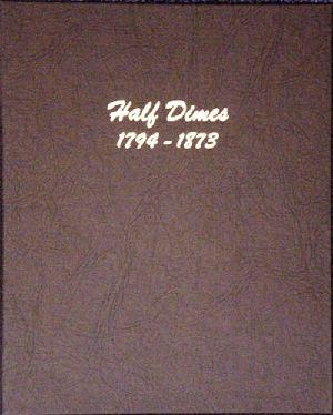 Dansco Album #6120 for Half Dimes