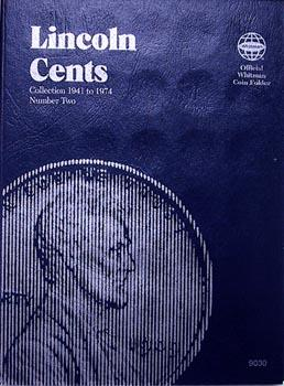 Whitman Folder: Lincoln Cents #2