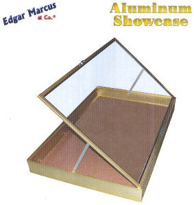 Edgar Marcus Aluminum/Glass Showcase