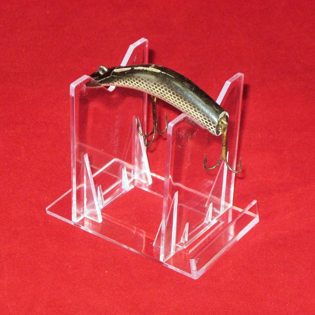 Fishing Plug Display Easels- Clear