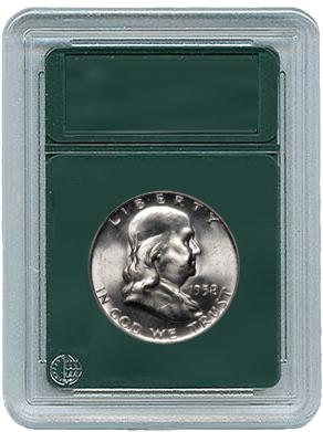 Coin World Coin Slabs for Half Dollars