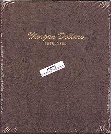 Dansco Album #7178 for Morgan Silver Dollars: 1878-1890