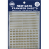 Whitman Date Transfer Sheets - Gold