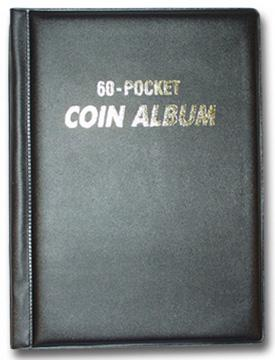 Coin Album/Wallet: 60 Pockets