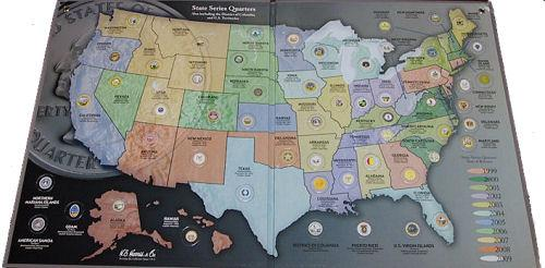 HE Harris State Quarter Map