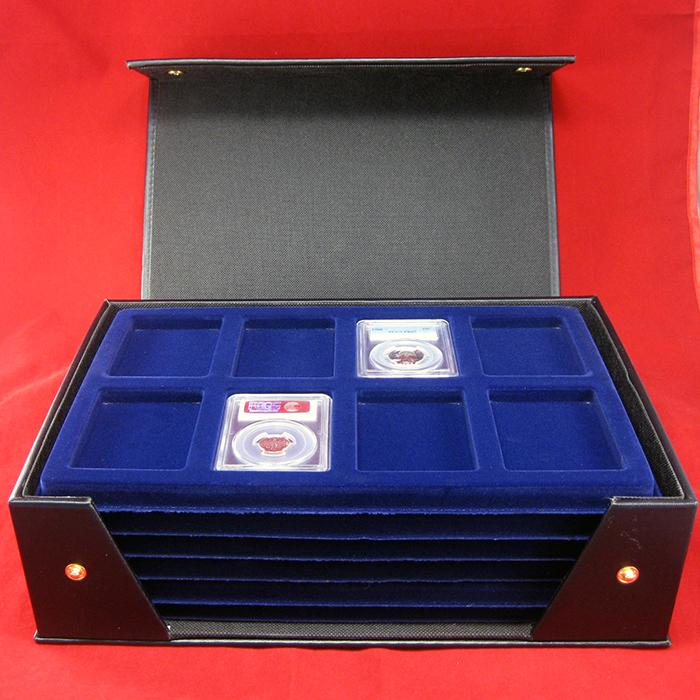Tri-fold Presentation Case including 6 Slab Trays