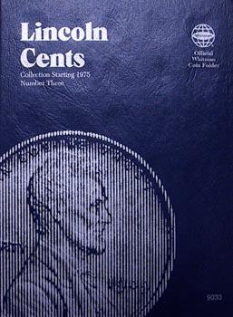 Whitman Folder: Lincoln Cents #3