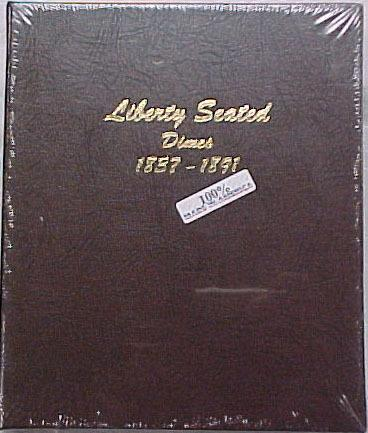 Dansco Album #6122 for Liberty Seated Dimes