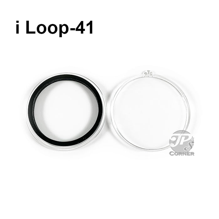 Air-Tite Model I Loop 41mm Black RIng Type Ornament Holder