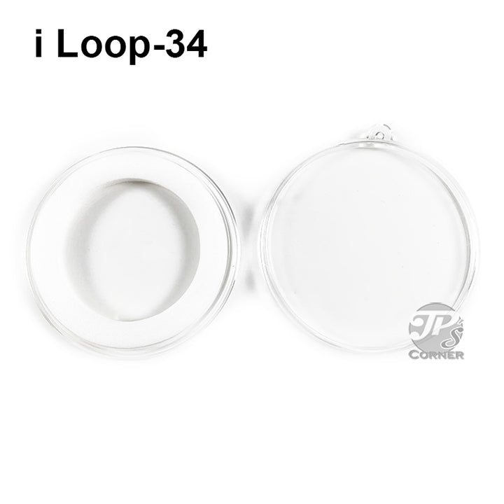 Air-Tite Model I Loop 34mm White Ring Type Ornament Holder