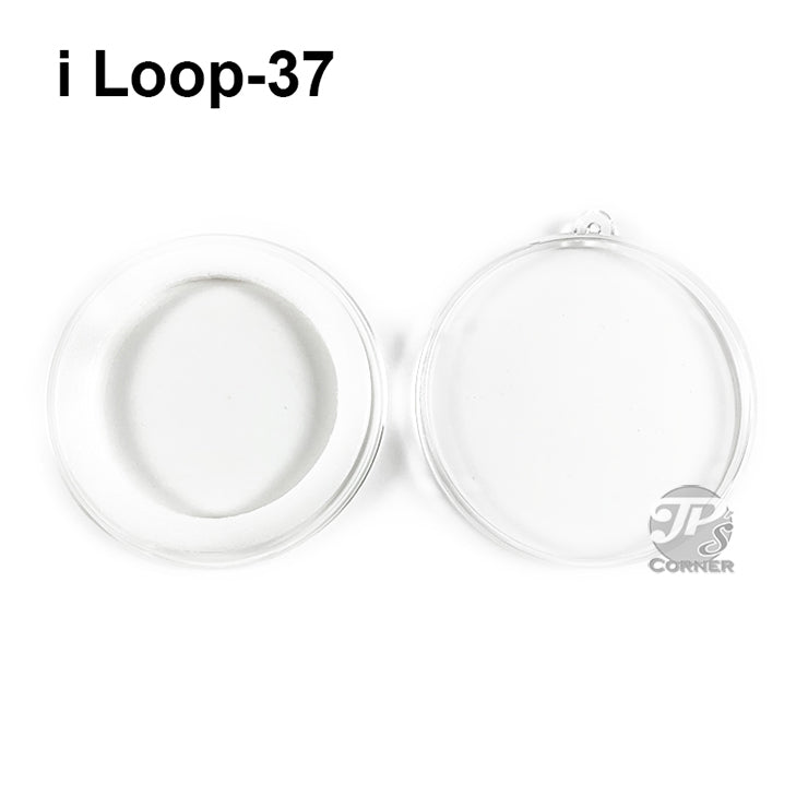 Air-Tite Model I Loop 37mm White Ring Type Ornament Holder