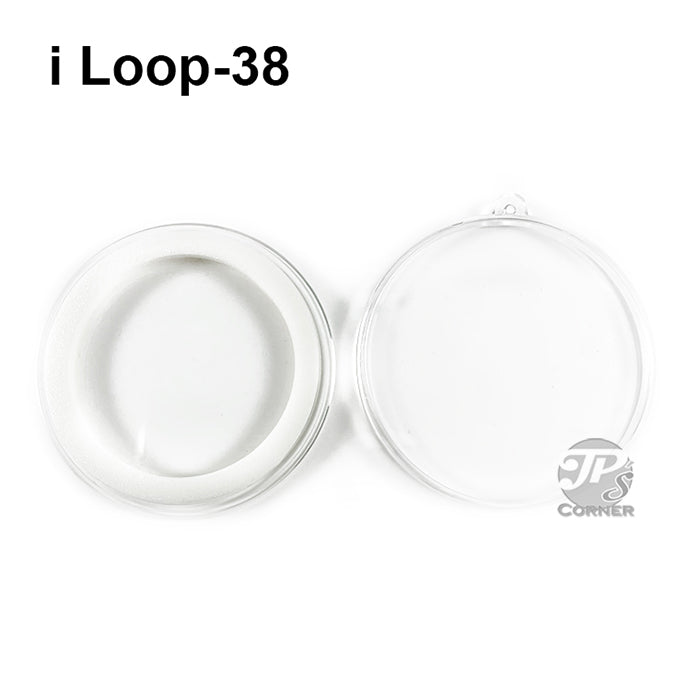 Air-Tite Model I Loop 38mm White Ring Type Ornament Holder