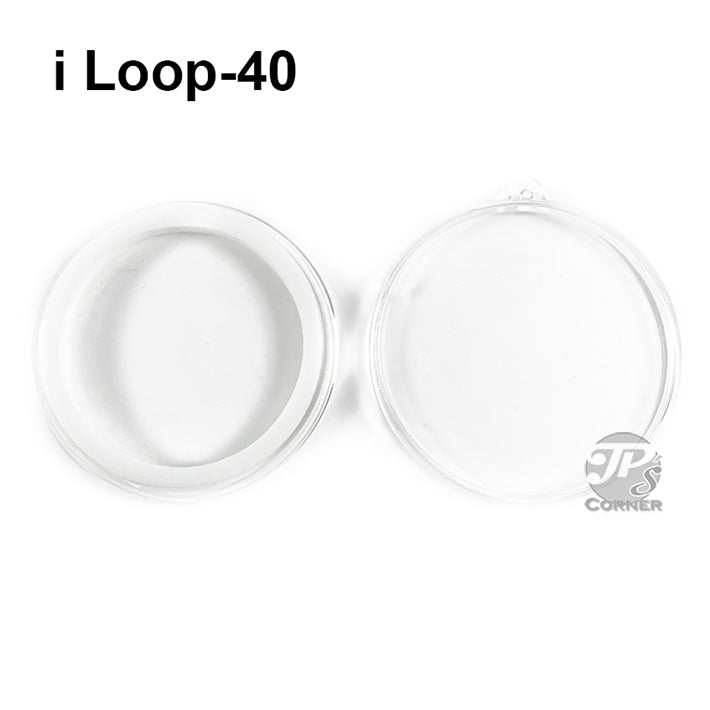 Air-Tite Model I Loop 40mm White Ring Type Ornament Holder