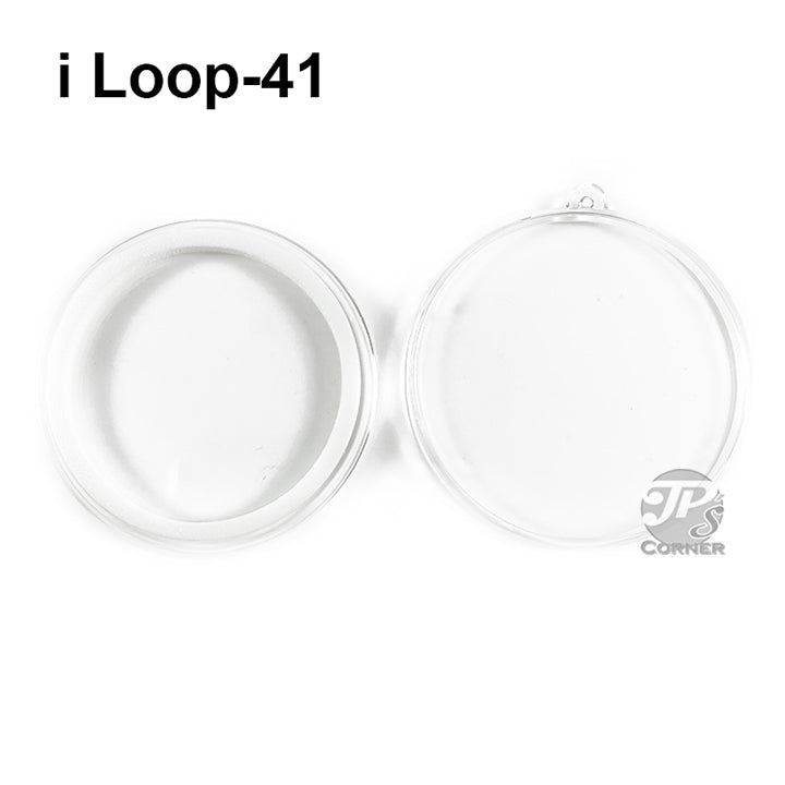 Air-Tite Model I Loop 41mm White Ring Type Ornament Holder