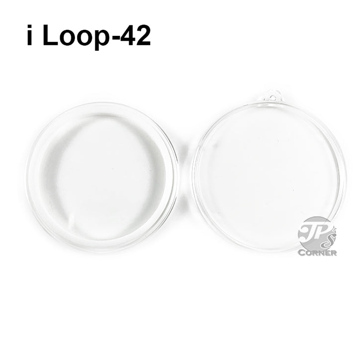 Air-Tite Model I Loop 42mm White Ring Type Ornament Holder