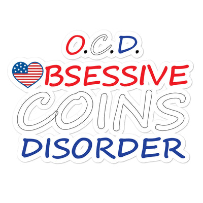 O.C.D. Bubble-free stickers