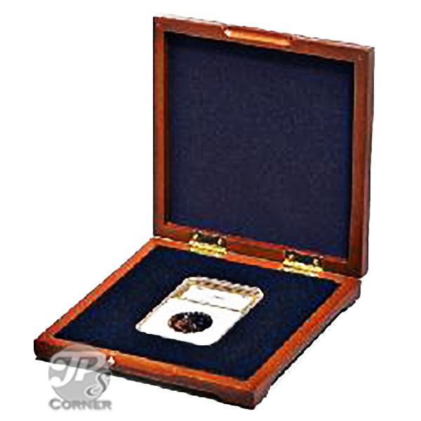 PC-4 Wood Coin Presentation Case