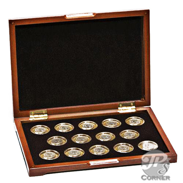 PC-5 Wood Coin Presentation Case