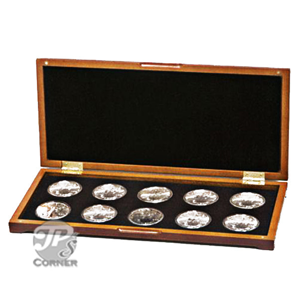PC-6 Wood Coin Presentation Case