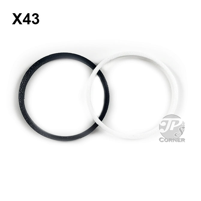 43mm Air-Tite Model X Foam Rings for Coin Capsule