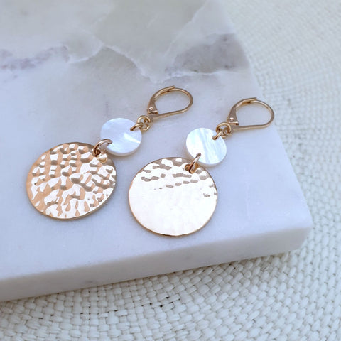 Boucles Palmas Gold