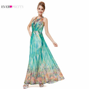 TheCheapWorld.com - Prom Dresses Ever Pretty HE08258 2018 Floral ...
