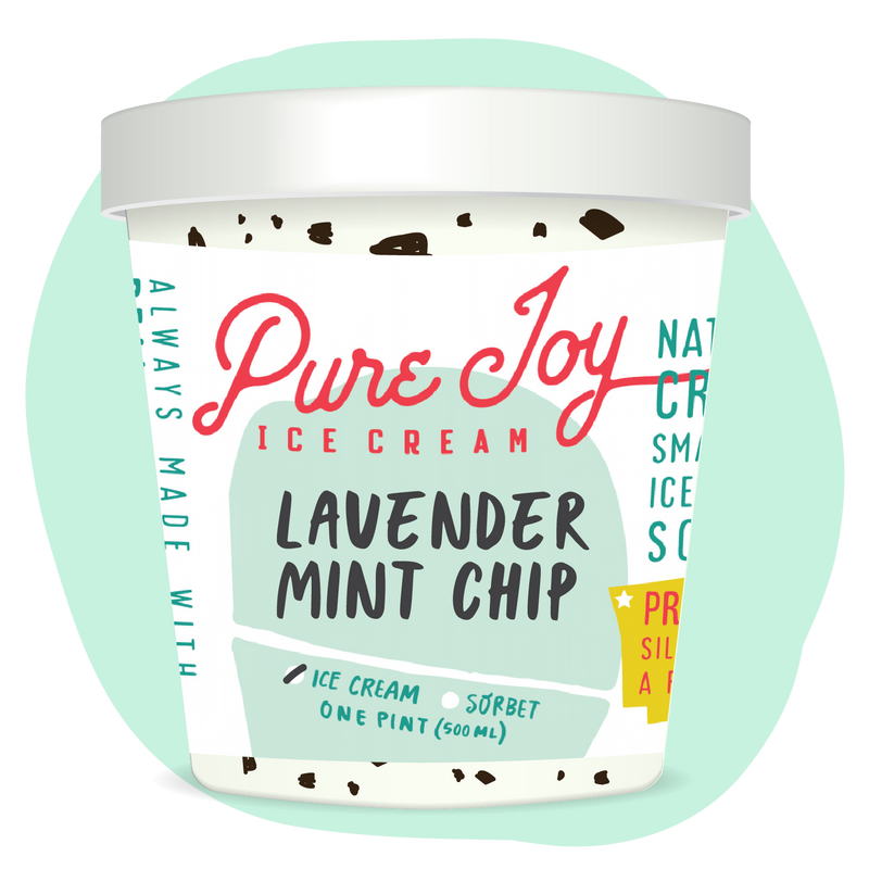 Honey Lavender Chip Pint