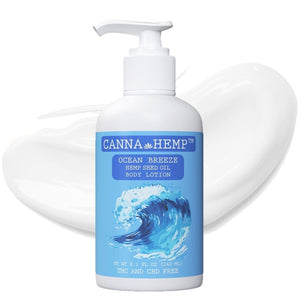 Canna Hemp - Ocean Breeze Lotion - 8.1 Fl Oz (240mL)