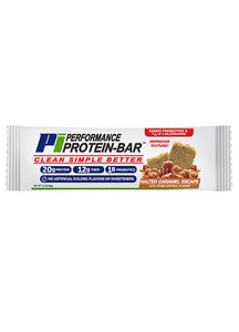 Performance Inspired Protein Bar - Salted Caramel Escape (Box of 12) , 27.2 OZ