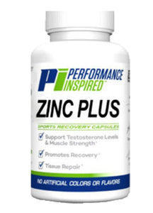 PERFORMANCE INSPIRED - Zinc Plus Caps - 90 Count, 4.8 OZ