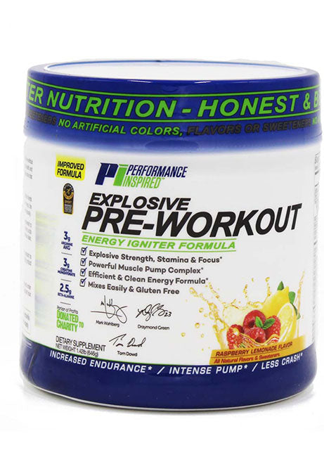 PERFORMANCE INSPIRED - Pre-Workout Raspberry Lemonade, 27.2 OZ