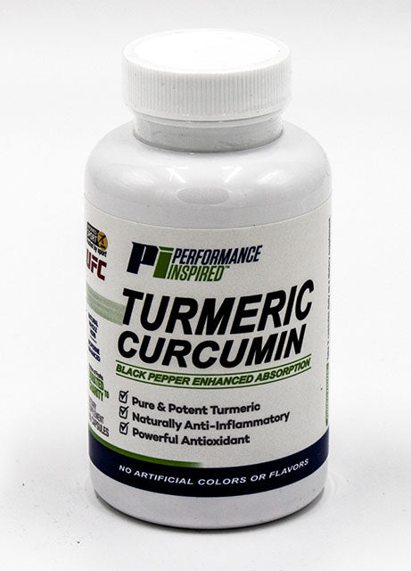 PERFORMANCE INSPIRED  - Turmeric-Curcumin Complex 60-count bottle, 3.2oz