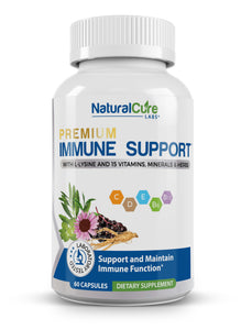 Natural Cure Labs - Premium Immune Support - 60 Capsules
