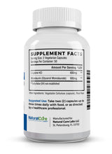Load image into Gallery viewer, Natural Cure Labs - L-Lysine + Monolaurin - 600mg (1:1 Ratio) - 100 Capsules