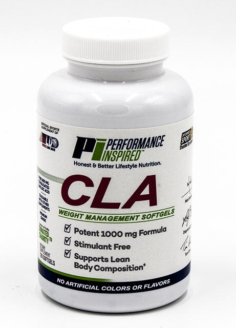 PERFORMANCE INSPIRED NUTRITION - CLA Soft-gels 120 Count, 8 Oz