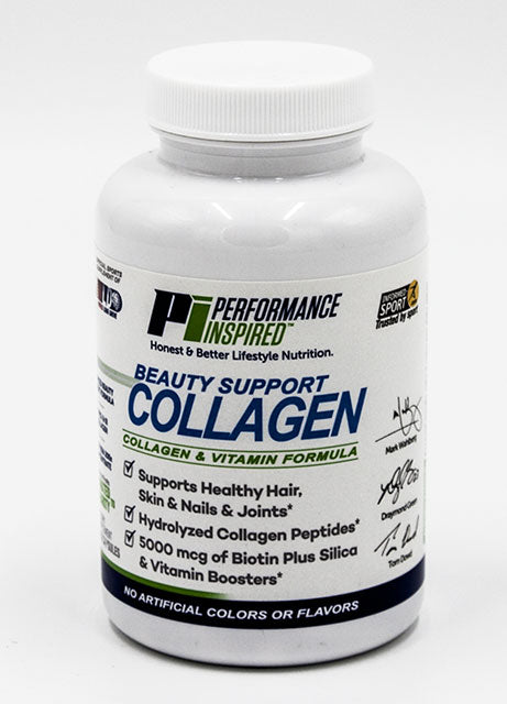 PERFORMANCE INSPIRED NUTRITION - Collagen Capsules - 120 Count, 4.8 Oz